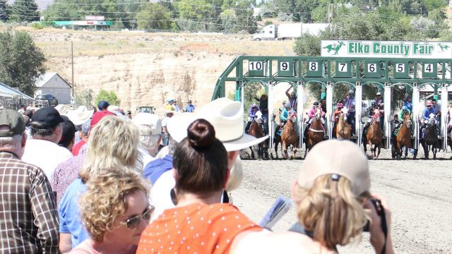 Elko County Fair Horse Racing
