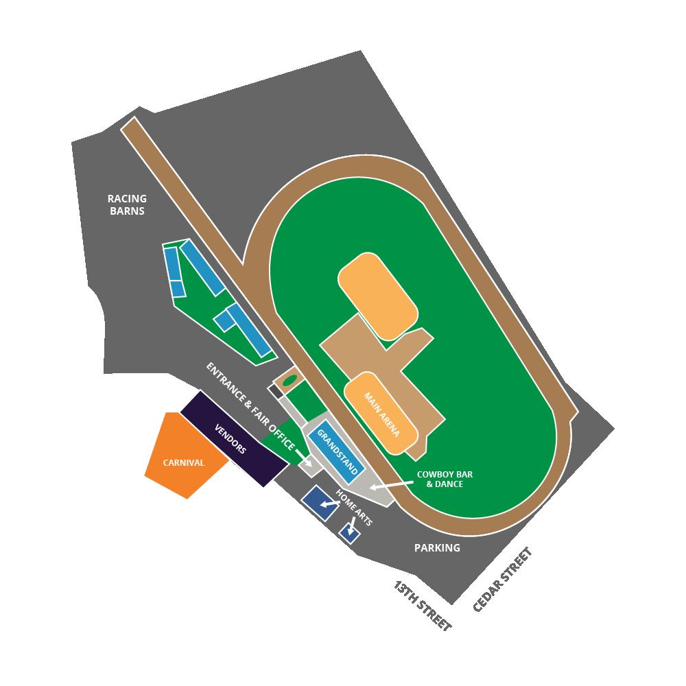 Elko County Fair Map